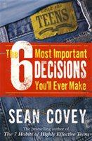 你要做的最重要的6個決定:針對十幾歲少年